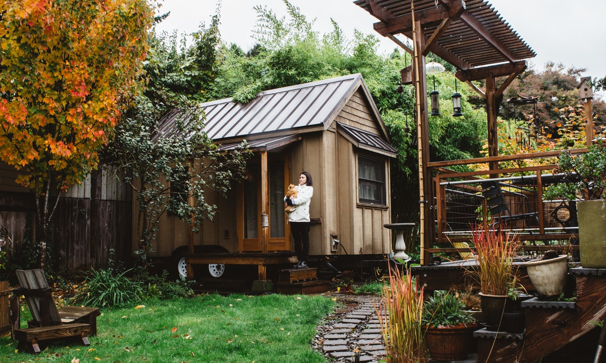 Are tiny houses a solution to the rental crisis or just a for Best looking houses