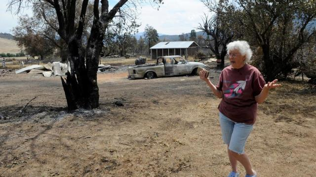 Klamathon fire victims face long road to recovery | eClips
