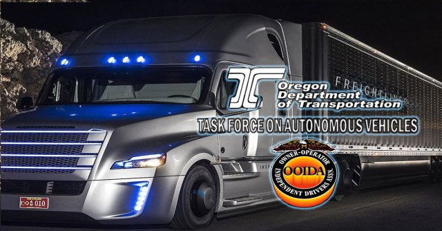 1, the Oregon Department of Transportation's Task Force on Autonomous Vehicles will meet for a long-term policy workshop. Making sure that the needs of ...