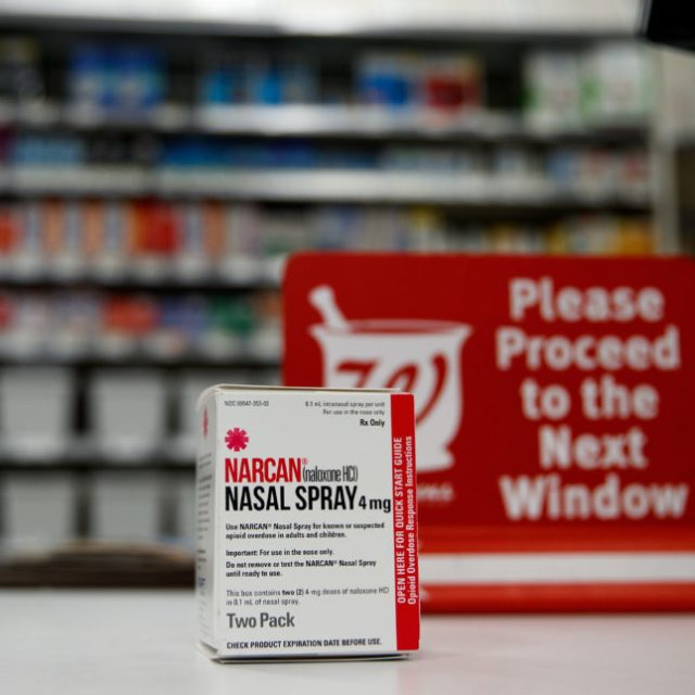 Pharmacies fail to offer easy access to naloxone, or to stock it