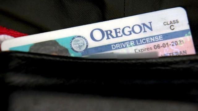 oregon drivers license out of state
